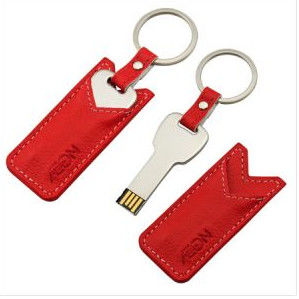 Large Capacity Leather Flash Drive U Disk 4gb 8gb 16gb No Encryption